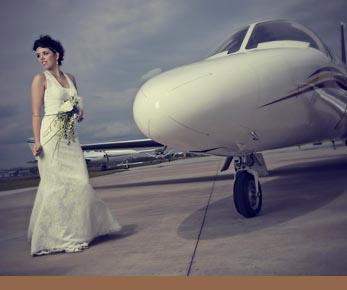 Private Jet Wedding Ceremony